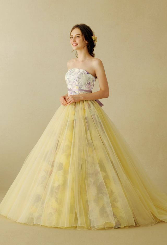 70cd19c1819ff キーワードは「花」! 今注目のカラードレス5選 公式 東京の結婚式 ...