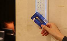 メンバーズカードで入室